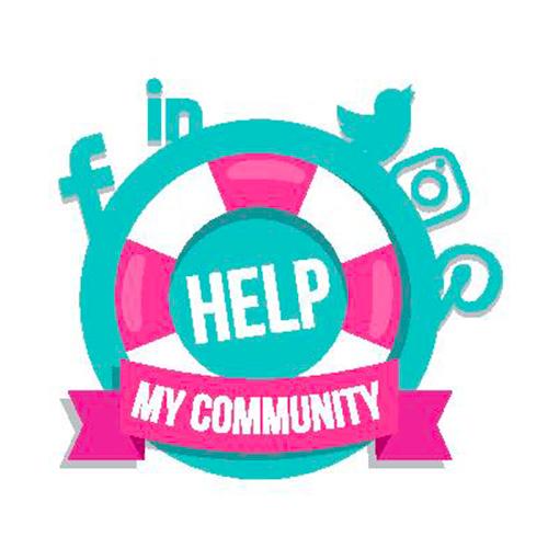 HELP MY COMMUNITY BY SO HAPPY WEB